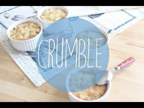 Tarta de queso y manzana con streusel de nueces, Receta por Cuchy - Petitchef