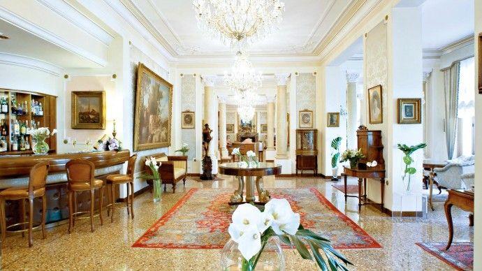 Grand Hotel Terme Trieste & Victoria Séjours bien-être et fangothérapie   http://www.spadreams.fr/pas-cher/italie/monts-euganeens/abano-terme/grand-hotel-terme-trieste-victoria/