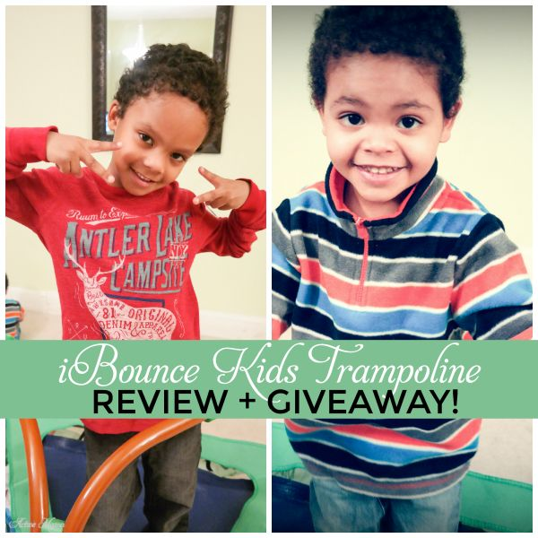 iBounce Kids Trampoline Review + Giveaway! - Brooklyn Active Mama