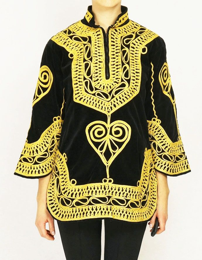 PAKISTAN - unique handmade ethnic tunic.