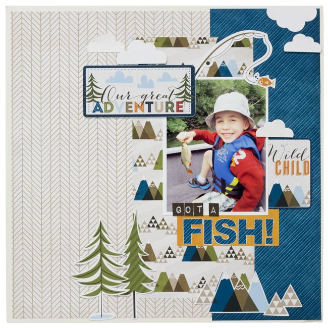 17 best images about scrapbook layouts   camping and