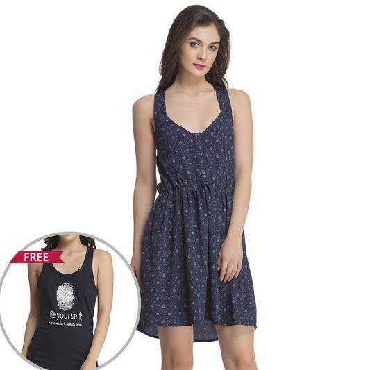 2 Pc Nightwear Set, Nightwear :: Beachdresses Online Lingerie Shopping: Clovia