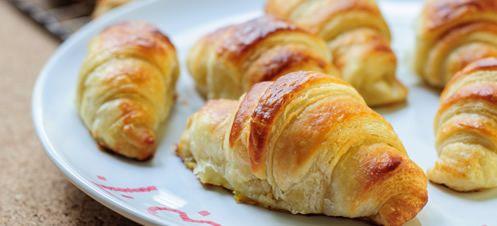 Croissanty - bezlepkový recept - Schär