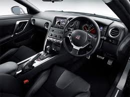 Interior Nissan GTR 2012