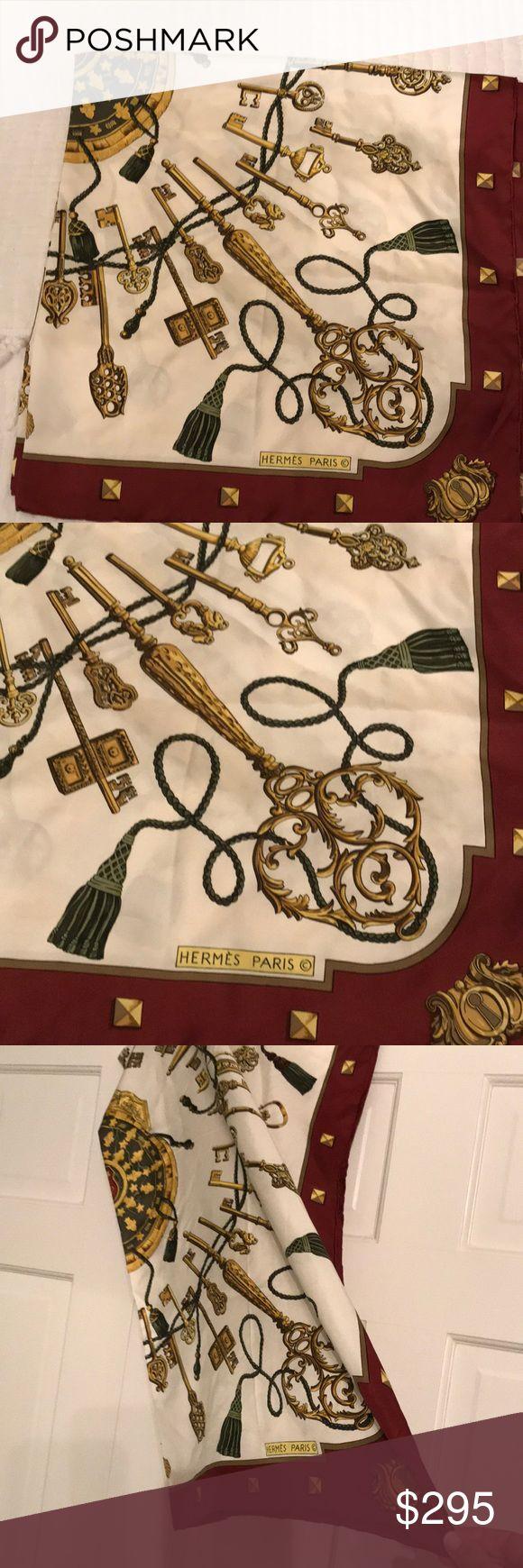 Hermès silk scarf Hermès vintage silk scarf Hermes Accessories Scarves & Wraps
