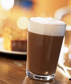 Torani Pumpkin Flan Caramel Latte // Made with Torani