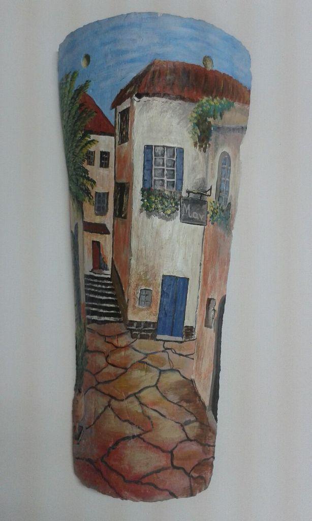 M s de 1000 ideas sobre pinturas de pared decorativas en for Pintura para tejas