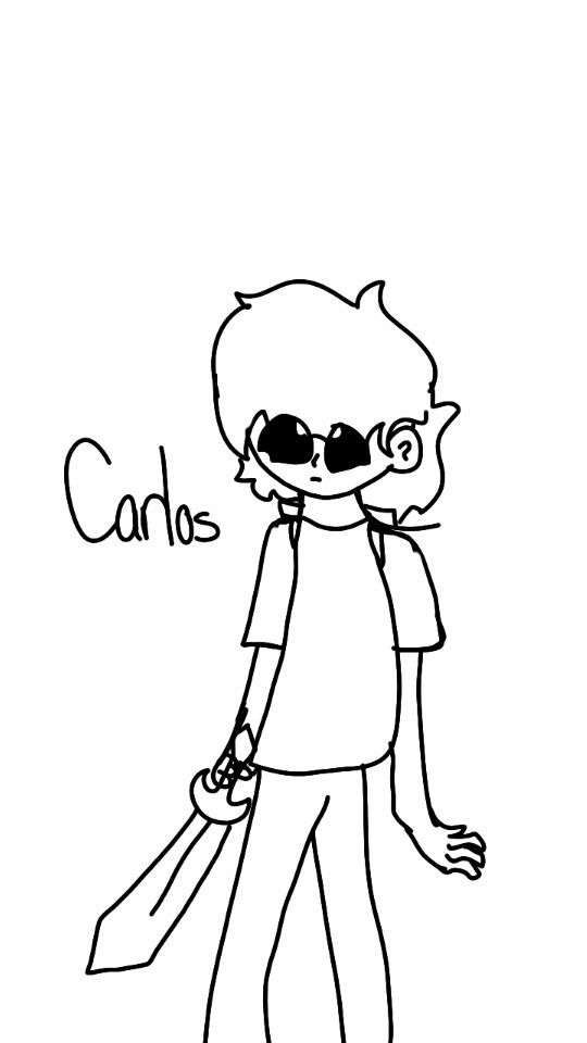 Carlos without its paperbag