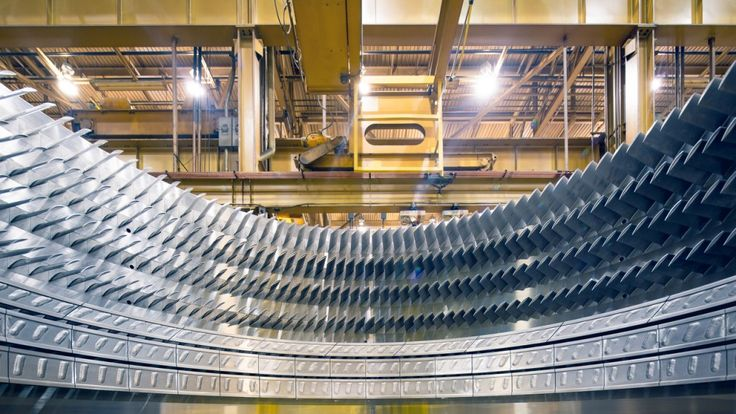 Photos of the Day: An Inside Look at a GE's Gas Turbine Plant