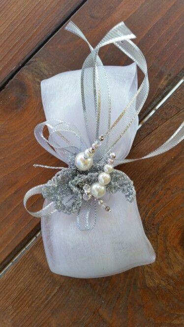 Bomboniere per nozze d 39 argento nozze pinterest nozze for Addobbi 25 anni di matrimonio