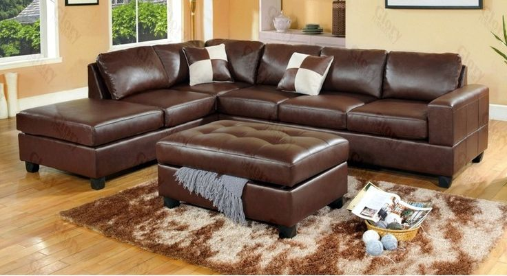 25 best ideas about brown sectional sofa on pinterest for Best sectional sofa for family