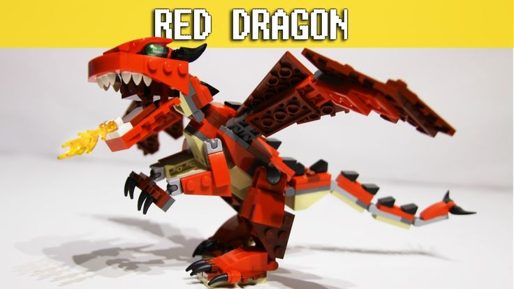 Red Creatures - LEGO Creator 3in1 - Red Dragon Build set 31032 video: https://youtu.be/xJunjH9Dt5E