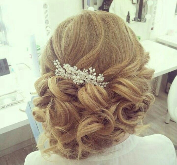 ... on Pinterest | Easy messy bun, Wedding hairstyles and Braided half up