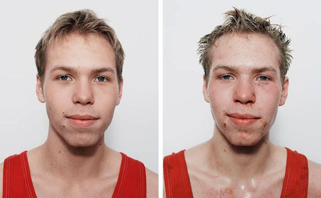 Boxers Before And After The Fight: 20 Beautiful Photography Project By Nicolai Howalt - Part 4