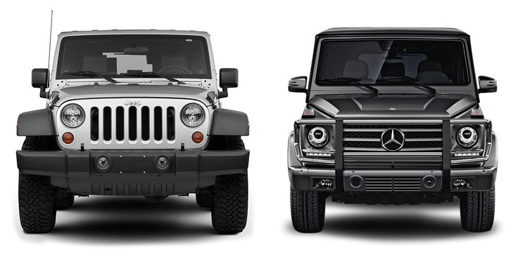 Auto Site Compares Jeep Wrangler vs. Mercedes G-Wagon… Here's what we think.