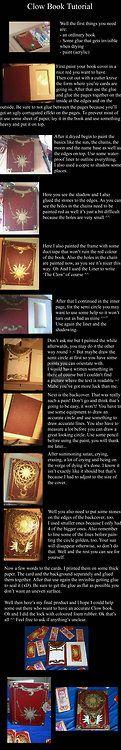 Clow Book Tutorial -http://themisvalvernis.deviantart.com/art/Clow-book-tutorial-365827470