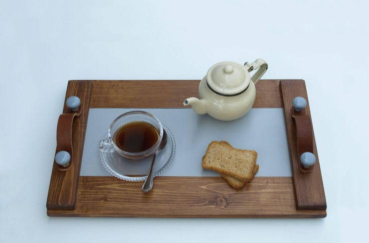 A special handmade wooden tray that combines traditional with modern style.