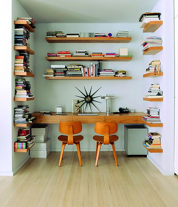 Adorable coin bureau à la fois vintage et design // univers colorés