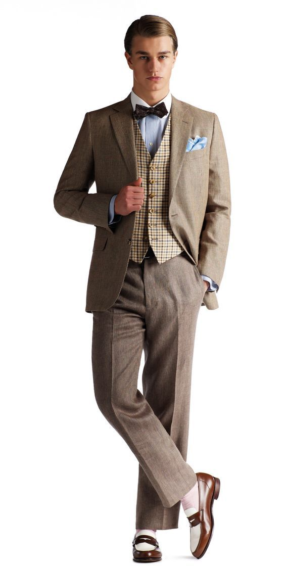 Great Gatsby Men's Fashion & Brooks Brothers Clothing — Gentleman's Gazette: