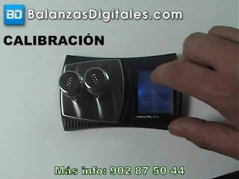 Balanza Digital ProScale XX-500 - Manual de uso y calibración -