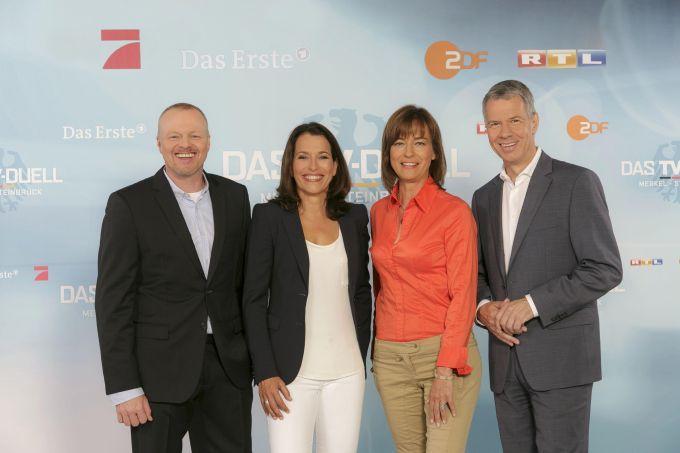 #TVDuell #Merkel vs. #Steinbrück: Wer wird #heute Abend gewinnen? #btw13 #btw2013 #ARD #ZDF #RTL #ProSieben › Stars on TV