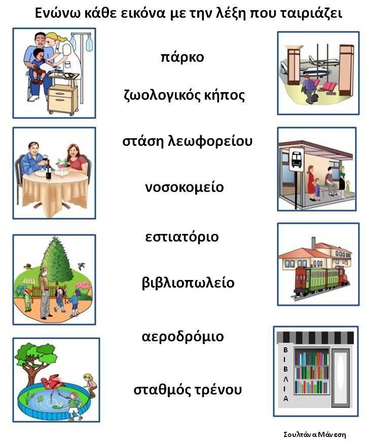 Δραστηριότητες, παιδαγωγικό και εποπτικό υλικό για το Νηπιαγωγείο: ΓΕΙΤΟΝΙΑ-ΠΟΛΗ