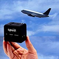 Spirit All in One Worldwide Travel Adapter Dual USB Charger Universal Travel Adapter International Plug Black