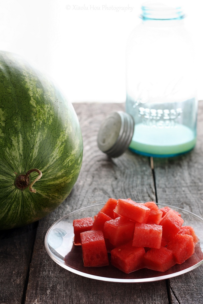 Spiked Watermelon Cooler - yum!