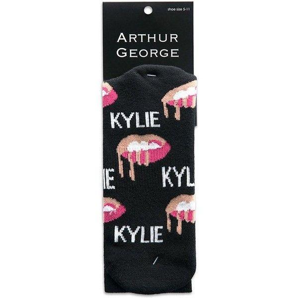 KYLIE X ARTHUR GEORGE Socks (700 DOP) ❤ liked on Polyvore featuring intimates, hosiery, socks and arthur george socks