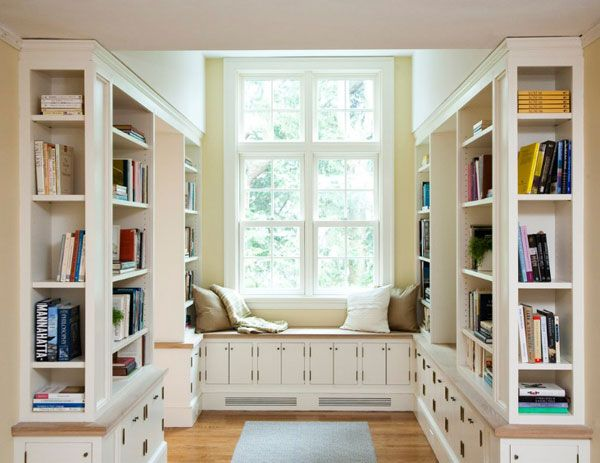 Cool Home Library Ideas. Decorate your home library so it becomes your private sanctuary where you can read, study and relax.   #thefamilymark www.thefamilymark.com
