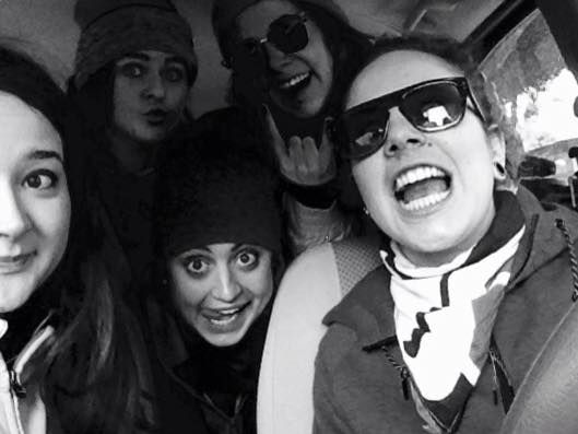 let's go to Campo felice yeeee #friends #weareready #skiitime #goodday #loveyougirls #yess #snow