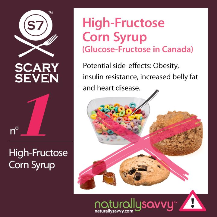 High Fructose Corn Syrup Products List 17 Best images about C...