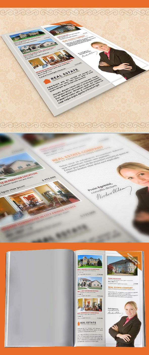 best images about indesign templates this indesign template is for real estate property listing flyer it s a single page document that can be used by real estate agents to showcase four