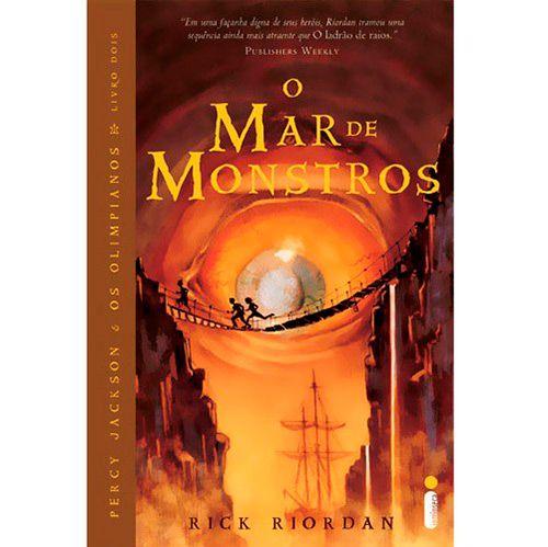 O Mar de Monstros - segundo livro de Percy Jackson e os Olimpianos