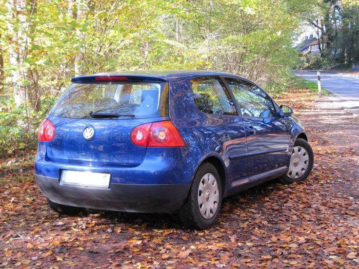 VW Golf 5 1.6 FSI Bj. 2004 im schönen blau