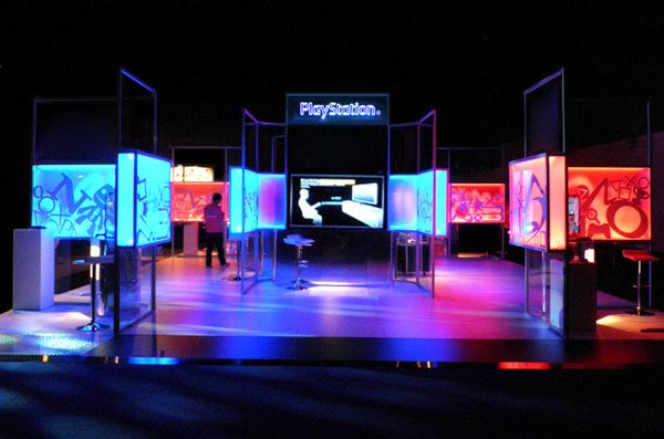 Exhibition Stand Lighting S : Lightbox exhibition ref d showcase booths walls