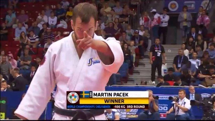 Martin Pacek, judoka swedish national team, fifth place at the judo world championships of 2014