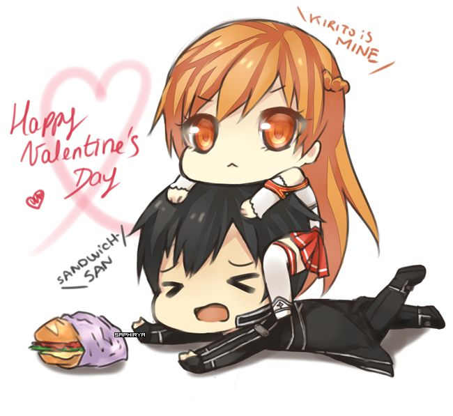Image result for anime happy valentines day