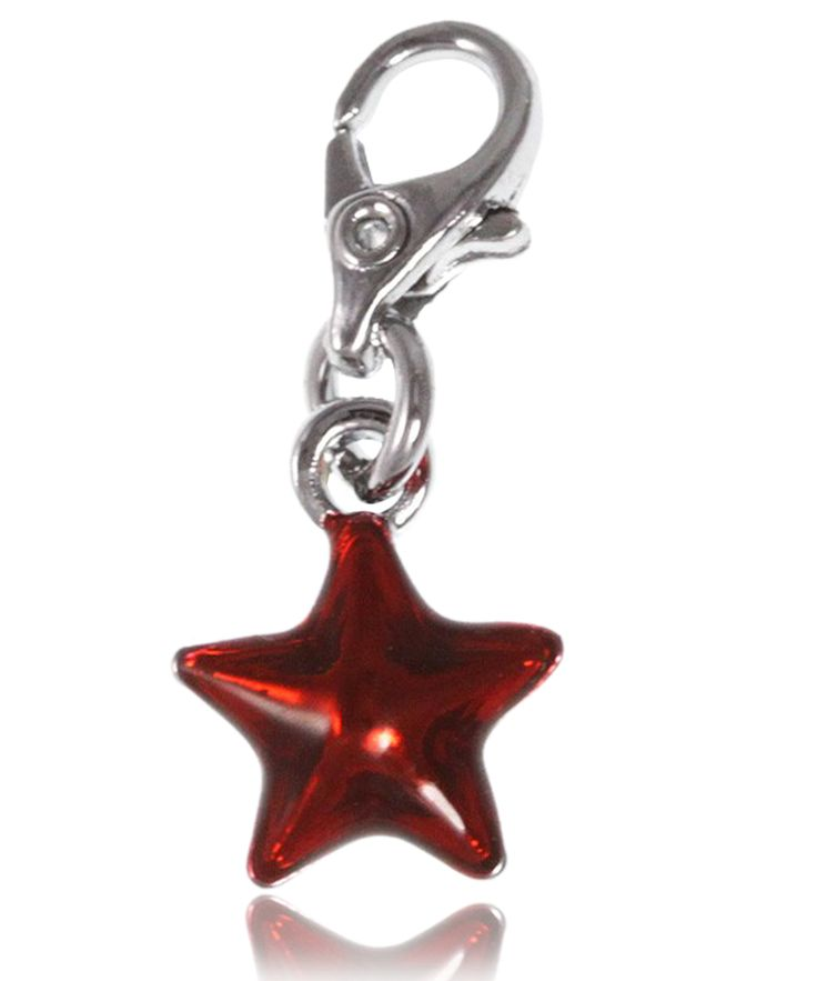 Charm étoile rouge - So Charm