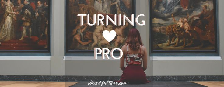 'Turning Pro' book review http://www.weirdfulstar.com/inspiration/turning-pro-book-review book review!From amateur to pro! #inspiration #art #beginning