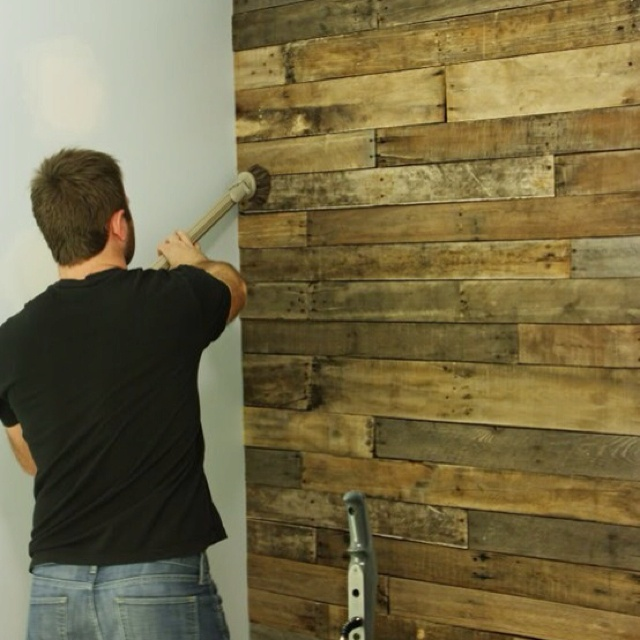 Used Barn Board Accent Wall Living Room: 17 Best Images About Reclaimed Wood Accent Wall On