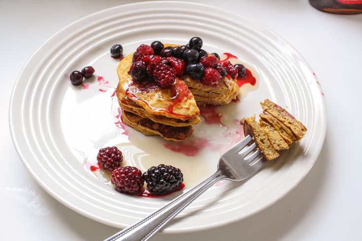 Pumpkin protein pancakes - The everyday food resource for our generation.