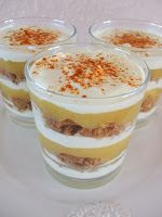 Kreationen aus der Küche: Apfel-Spekulatius-Dessert