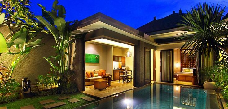 Cozy and comfort for one bedroom villa at Seminyak Bali. Design by Me/_Dodi Nug