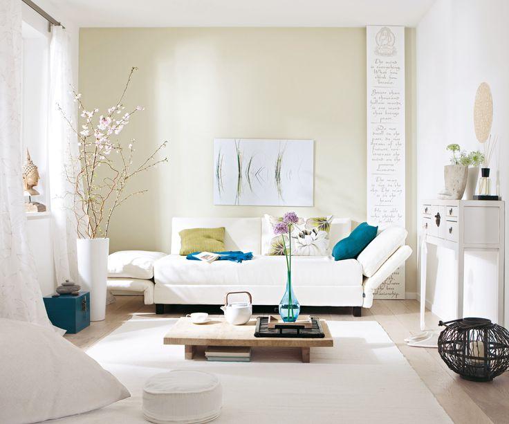 Auch ein kleines Zimmer kann toll aussehen! Wohnideen - kleines wohnzimmer einrichten