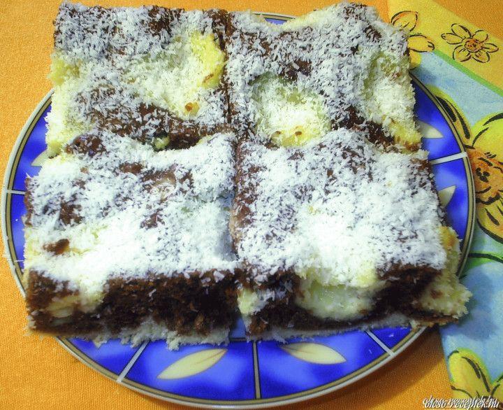 Kakaós-kókuszos kevert süti | Receptneked.hu (olcso-receptek.hu)