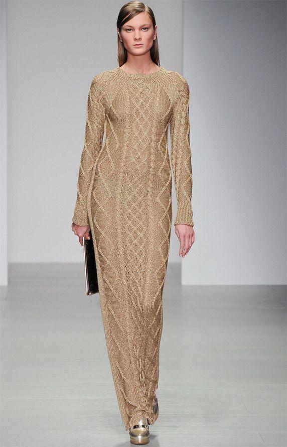 Зимние платья 2014-2015