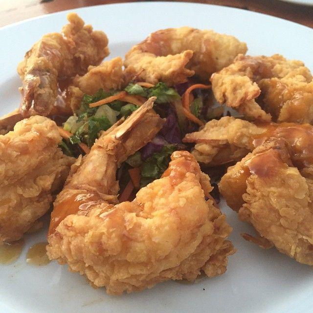 Thai Jumbo Fried Shrimp