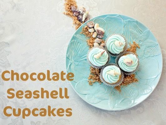 How to make Chocolate Seashells: http://www.completely-coastal.com/2017/04/beach-party-cupcake-ideas-toppers.html They make the best topping for cupcakes!