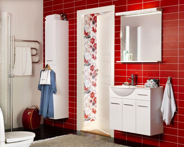 Näpsäkät säilytysratkaisut kylpyhuoneessa. - Smart storage in bathroom.